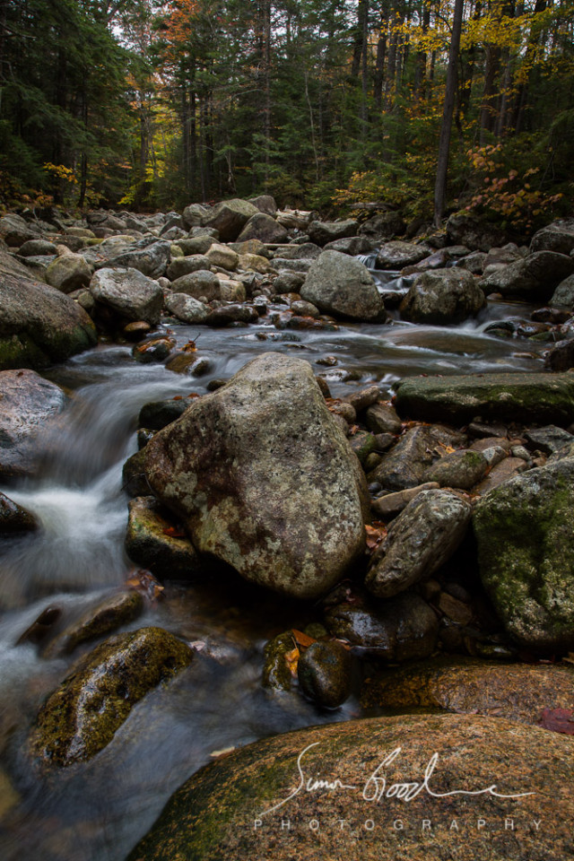 Autumn Stream in New Hampshire
